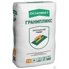 Клей плиточный ГРАНИПЛИКС эласт.Т-14 25 кг Основит