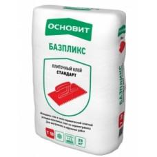 Клей плиточный БАЗПЛИКС Т-10 25 кг Основит