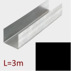 Профиль направляющий ПНЭ 20/17 L=3м