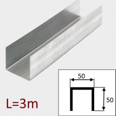 Профиль ПС-2 50/50 L=3м