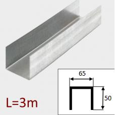 Профиль ПС-3 65/50 L=3м