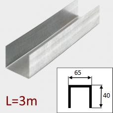 Профиль ПН-3 65/40 Кнауф L=3м