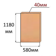 Экструдированный пенополистирол XPS 1180x580x40мм