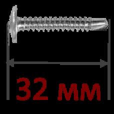 Саморез металл-металл 4,2x32мм, сверло
