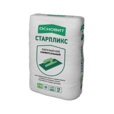 Клей плиточный СТАРПЛИКС Т-11 25 кг Основит